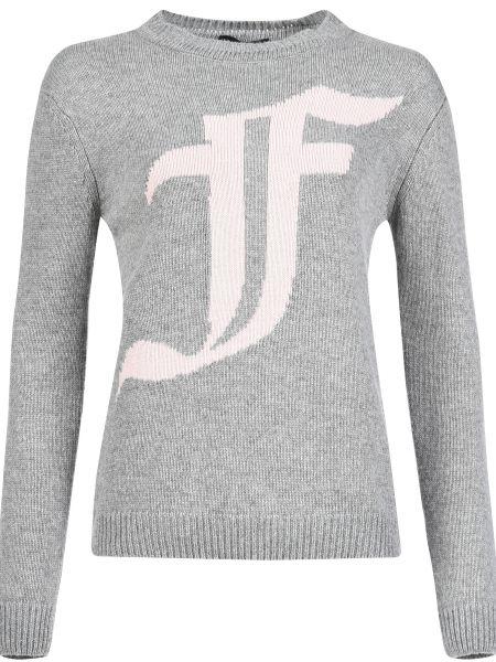 Кашемировый свитер - серый Mangano