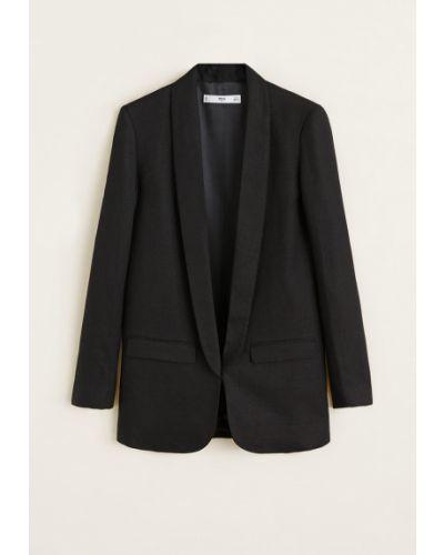 Пиджак прямой для офиса Mango
