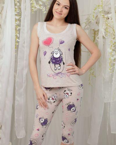 Пижама с бриджами с майкой золотое руно