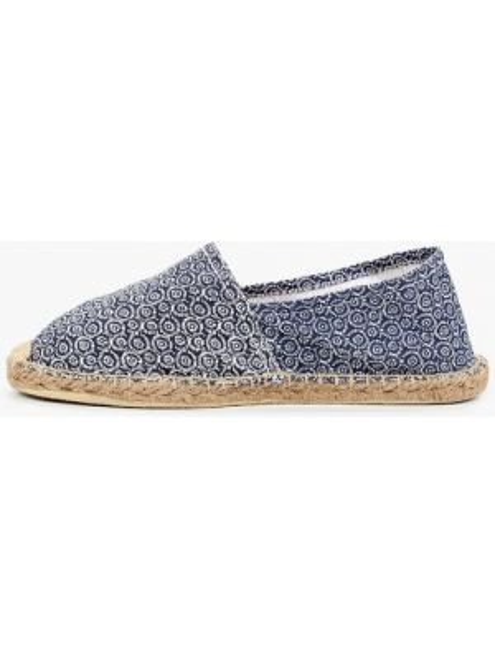 Текстильные эспадрильи - синие Fresh Brand