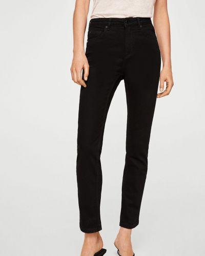 Прямые джинсы с нашивками на пуговицах Mango