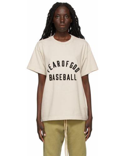 T-shirt bawełniana - czarna Fear Of God