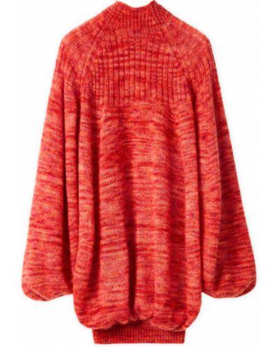 Czerwony sweter Loewe
