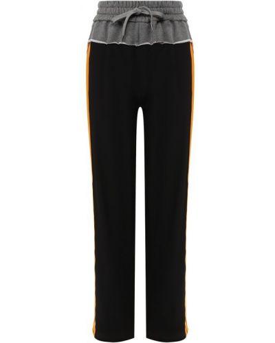 Шелковые брюки - черные No. 21