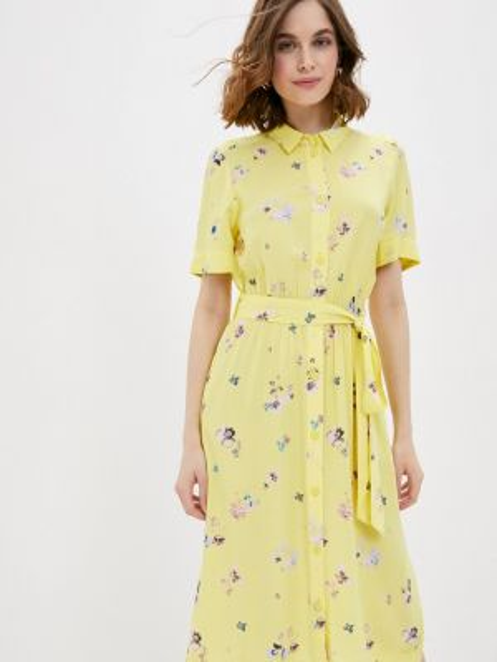 Платье платье-рубашка весеннее Q/s Designed By