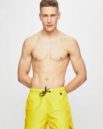Плавки с карманами желтый Blend