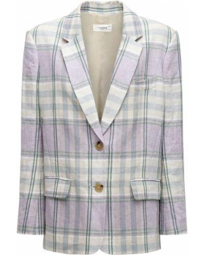 Льняной бежевый пиджак с карманами Isabel Marant étoile