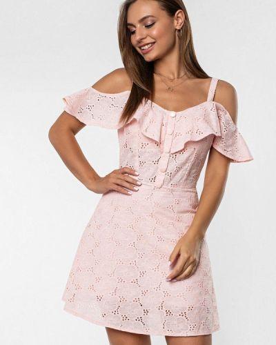 Розовое платье Itelle