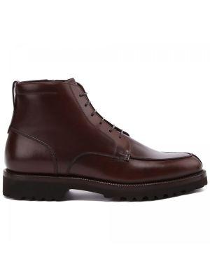 Коричневые итальянские ботинки Franceschetti