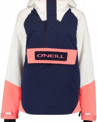 Прямая утепленная белая куртка O`neill
