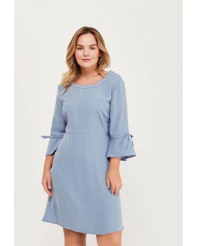 Голубое платье весеннее Junarose