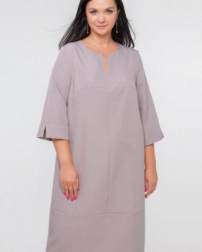 Повседневное платье - серое Лимонти