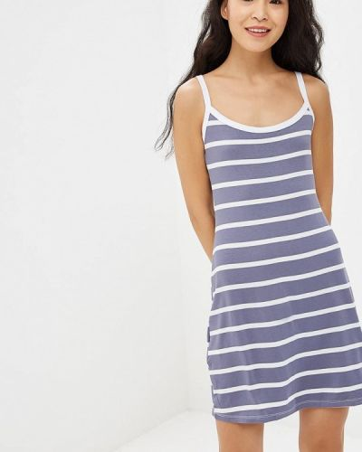 Платье серое платье-майка Adelante