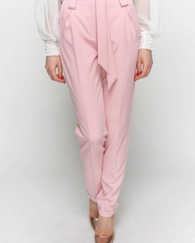 Классические брюки розовый весенний Zubrytskaya