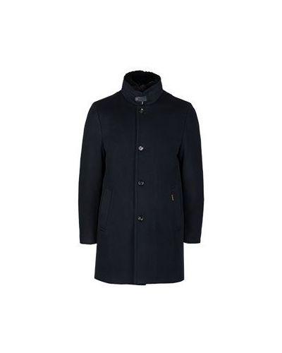 Пальто синий Moorer