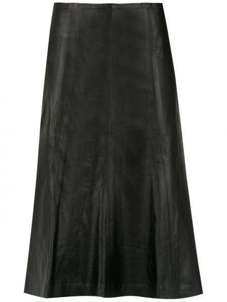 Плиссированная юбка миди с завышенной талией Clé