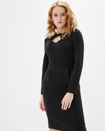 Черное платье-футляр Argent