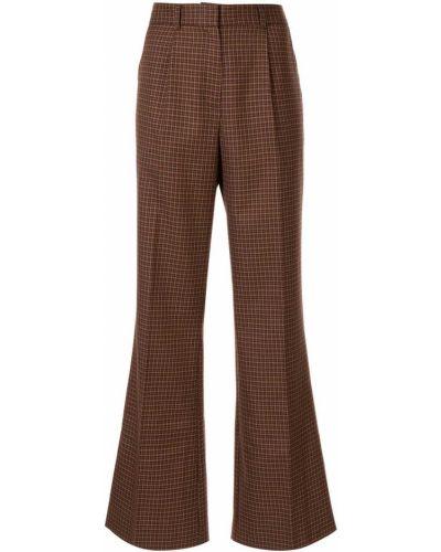 Расклешенные брюки с воротником Wynn Hamlyn