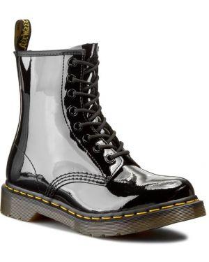 Buty czarne sztuczna skóra Dr. Martens