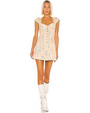 Платье мини на пуговицах Miaou
