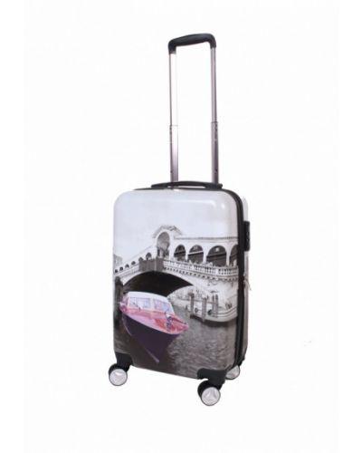 Серый чемодан Sunvoyage