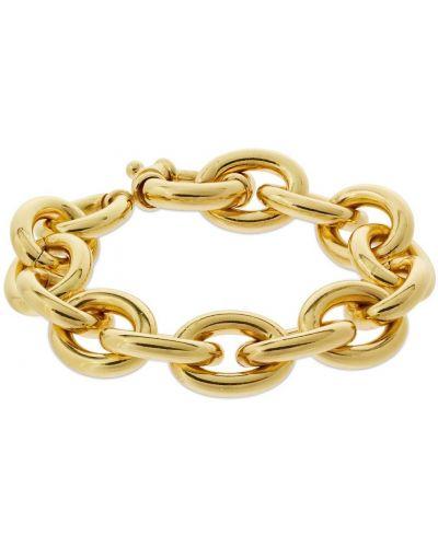 Żółta złota bransoletka łańcuch pozłacana Federica Tosi