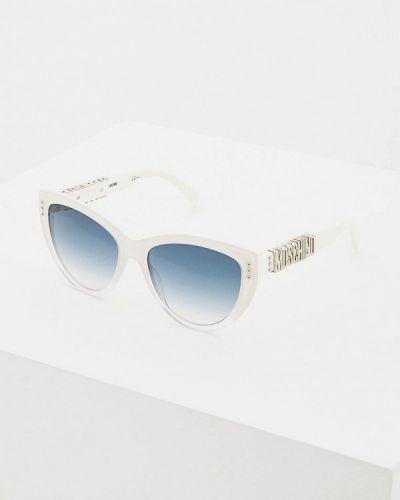 Солнцезащитные очки кошачий глаз 2019 Moschino