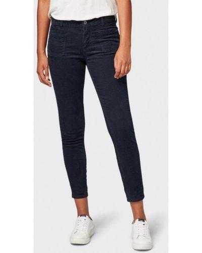 Синие брюки повседневные Tom Tailor Denim
