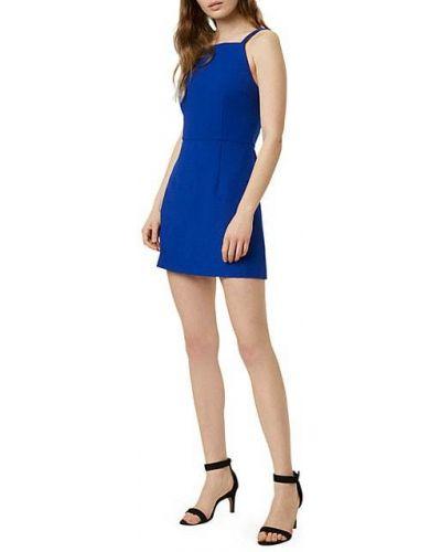 Свободное платье мини без рукавов с декольте French Connection
