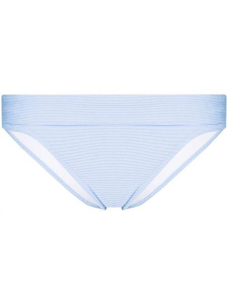 Синие классические бикини стрейч для бассейна Heidi Klein