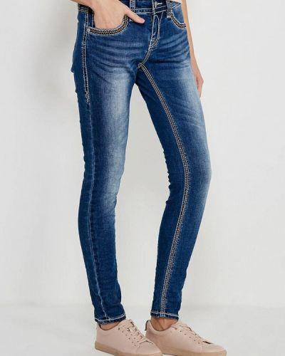 Синие джинсы-скинни Blue Monkey