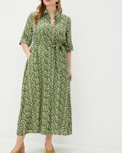 Зеленое платье W&b