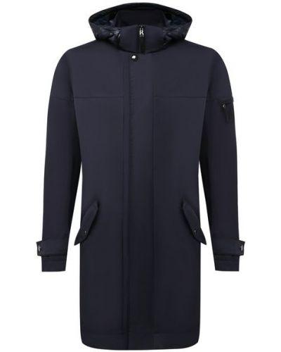 Синяя куртка из полиэстера Bogner
