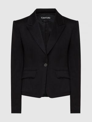 Черный пиджак Tom Ford