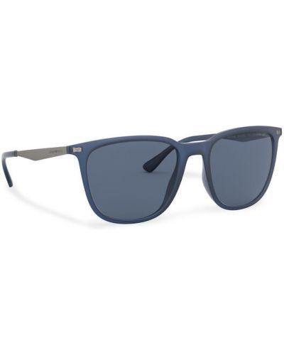 Okulary - granatowe Emporio Armani