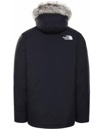Куртка с капюшоном - черная The North Face