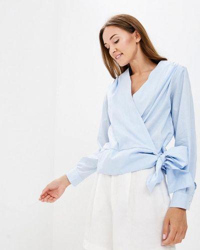 Голубая блузка с длинным рукавом Sartori Dodici