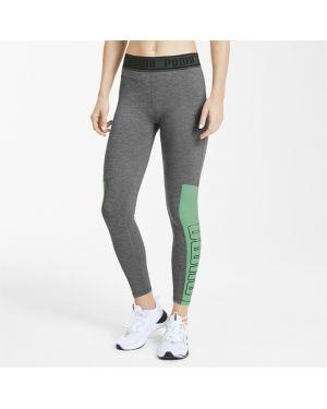 Спортивные брюки укороченные с надписью Puma