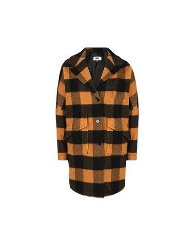 Пальто - оранжевое Mm6
