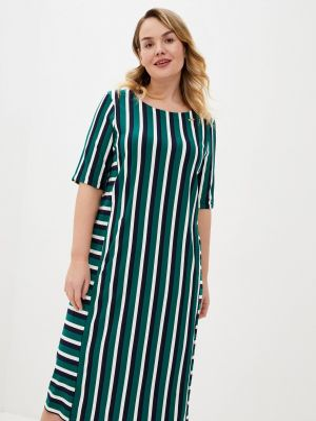 Зеленое повседневное платье Intikoma