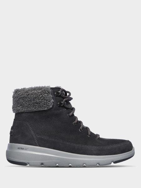 Кожаные ботинки - серые Skechers