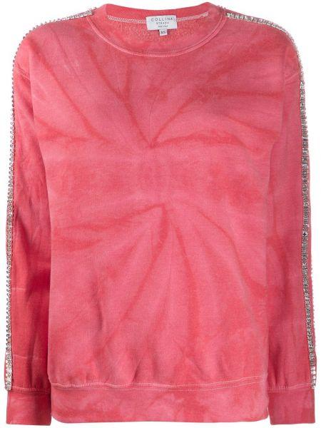 Bluza dresowa - różowa Collina Strada