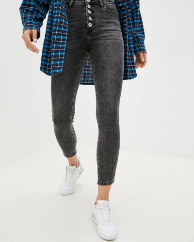 Серые джинсы осенние Miss Bon Bon