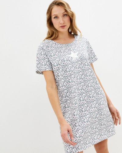 Домашнее белое платье Blue Seven