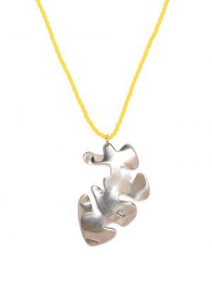Naszyjnik łańcuch - żółty Marni