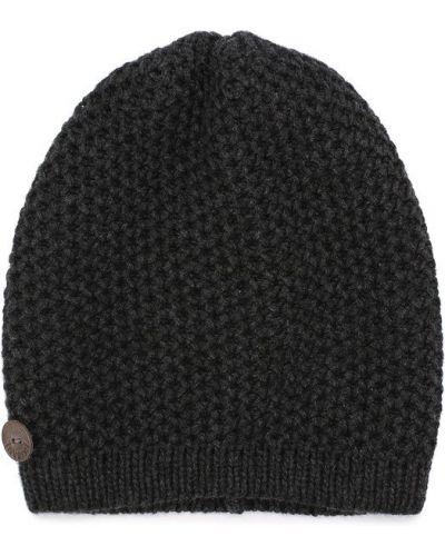 Вязаная шапка с помпоном кашемировая Inverni