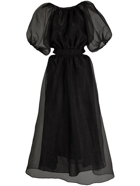 Платье мини короткое - черное Cynthia Rowley