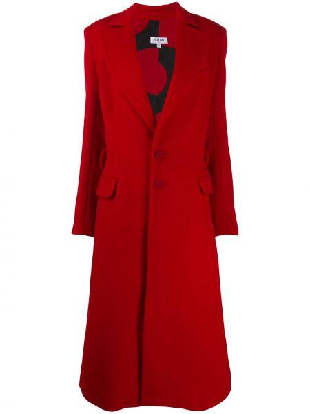 Коралловое длинное пальто Palomo Spain