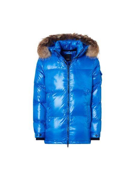 Niebieska kurtka z kapturem Rockandblue