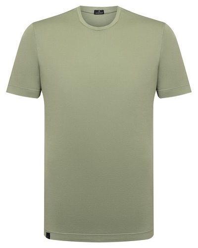 Хлопковая футболка Capobianco